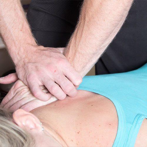 Chiropractic Olympia WA Neck Massage